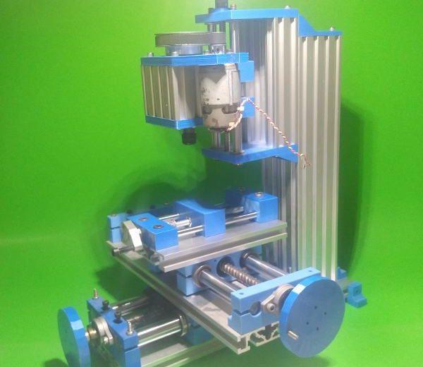 DIY Milling Machine Homemade 3D Printer Tools