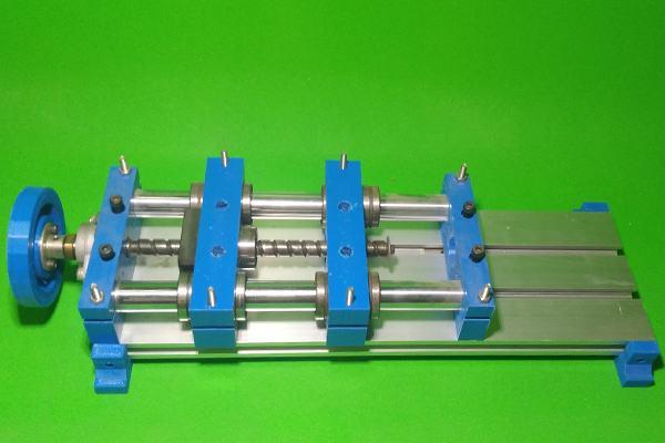 DIY Y Axis Slide Homemade Milling Base Machine