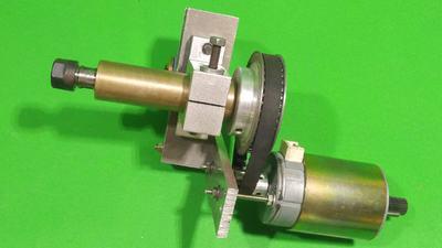 Homemade BLDC Motor ER 11 Spindle CNC DIY Milling Base Machine