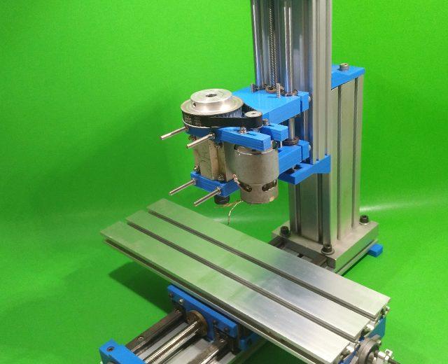 Homemade Milling Machine DIY 3D Printer Tools