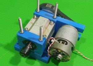 Homemade Spindle CNC DIY Milling Base Machine