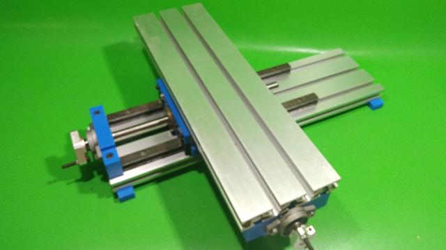 Homemade X Axis Slide DIY Milling Base Machine