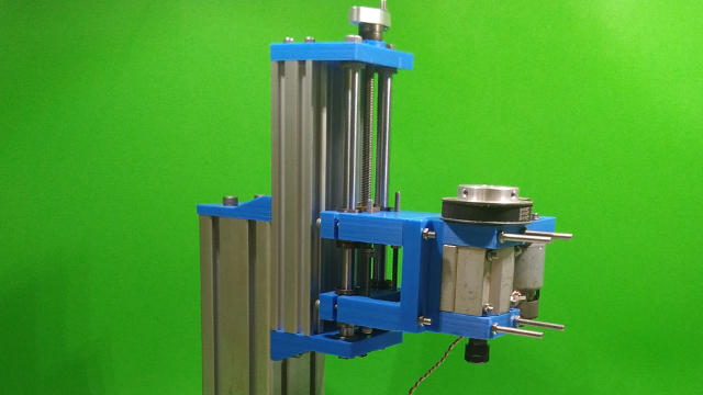 Homemade Z Axis Slide DIY Milling Base Machine