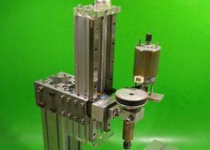 Homemade Z Aluminium Axis Slide DIY Milling Base Machine